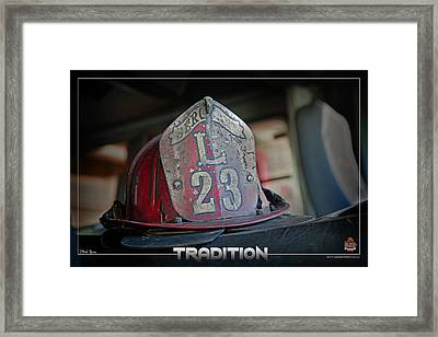 Tradition Framed Print by Mitchell Brown