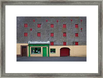 Traditional Butchers , Leighlinbridge Framed Print by Panoramic Images