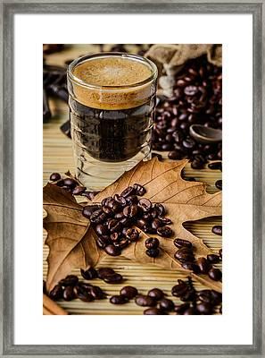 Traditional Espresso I Framed Print