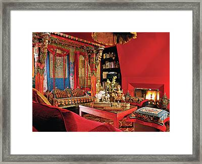 Traditional Home Interior Framed Print by Billy Cunningham
