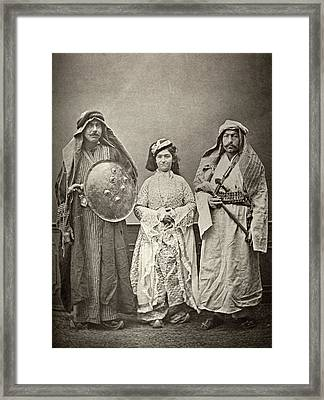 Traditional Iraqi Clothing Framed Print