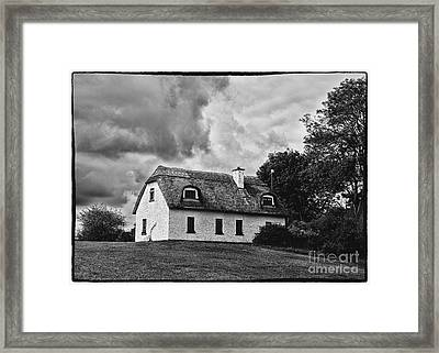 Traditional Irish Cottage Framed Print