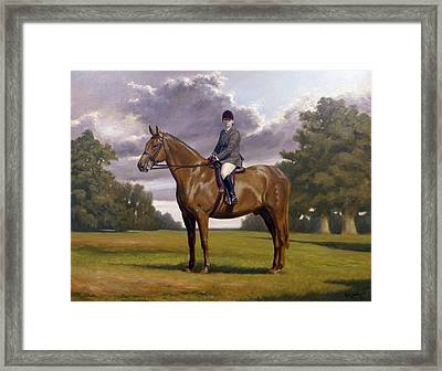 Traditional Portrait Framed Print by John Silver
