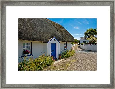 Traditional Thatched Cottage, Kilmore Framed Print by Panoramic Images