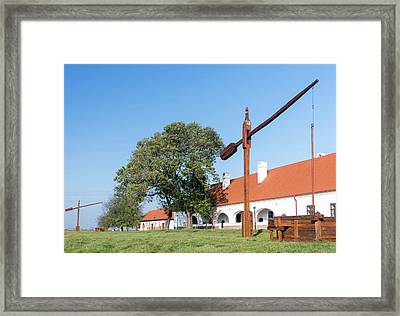 Traditional Water Well (well Sweep Or Framed Print