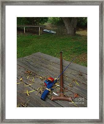 Traditions Of Yesterday Framed Print by Peter Piatt