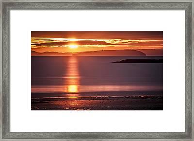 Traeth Bychan At Sunrise Framed Print