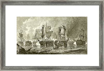 Trafalgar Framed Print by English School