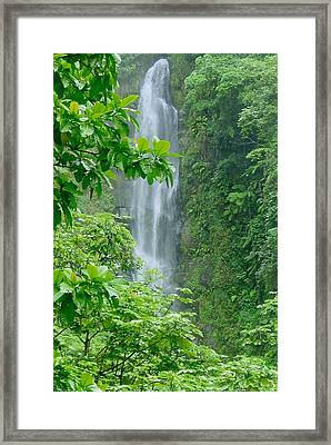 Trafalger Falls Framed Print by Robert Nickologianis