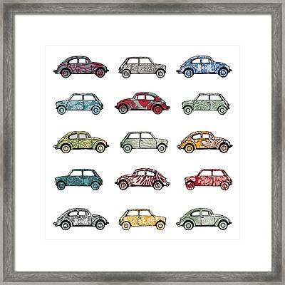 Traffic Jam Framed Print by Sarah Hough