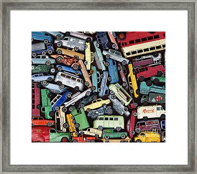 Traffic Jam Framed Print by Tim Gainey