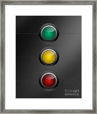 Traffic Lights Framed Print