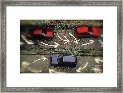 Traffic Framed Print by Novastock