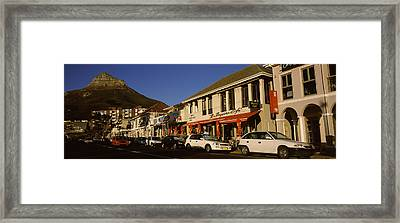 Traffic On The Road, Lions Head, Camps Framed Print by Panoramic Images