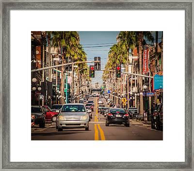 Traffic Framed Print by Ybor Photography