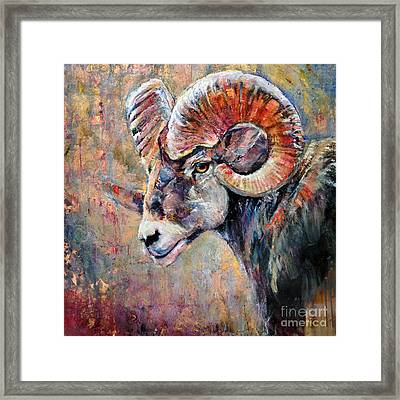 Trail Blazer Framed Print
