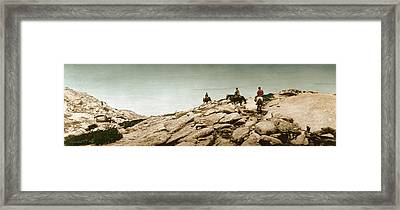 Trail Ride One Framed Print