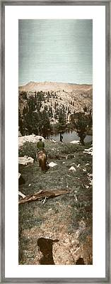 Trail Ride Three Framed Print