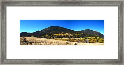 Trail Ridge Road - Panorama Framed Print