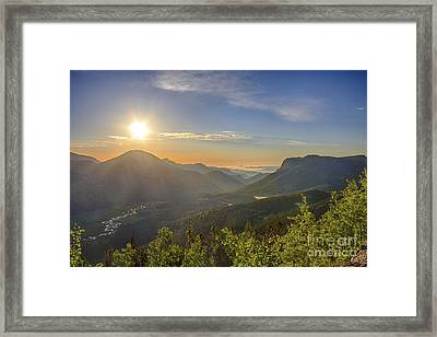 Trail Ridge Road Sunrise Framed Print