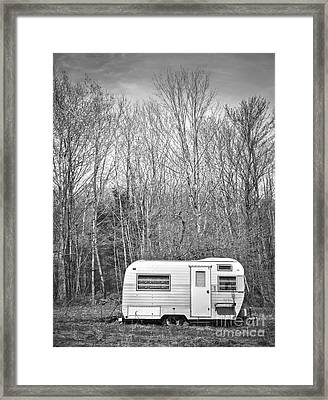 Trailer Framed Print by Diane Diederich