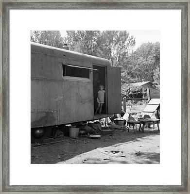 Trailer Home, 1939 Framed Print by Granger
