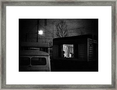 Trailer Home Framed Print