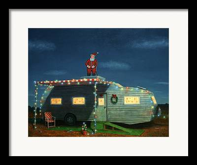 Trailer Trash Framed Prints