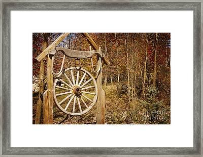 Trail's End Framed Print by A New Focus Photography