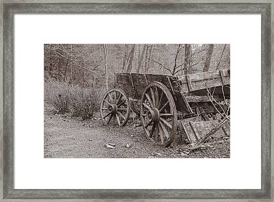 Trail's End Framed Print by William Culler