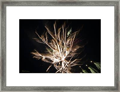 Framed Print featuring the photograph Trails by Robert Culver