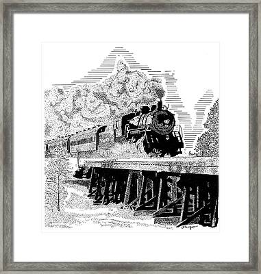 Train 1 Framed Print