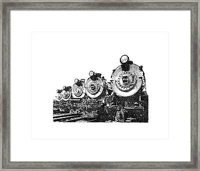 Train 2 Framed Print