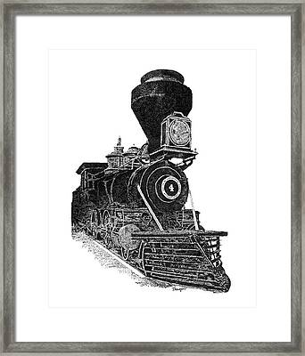 Train 3 Framed Print