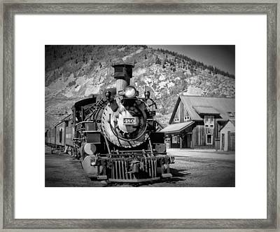 Train 480 Framed Print