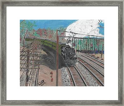 Train 641 Framed Print