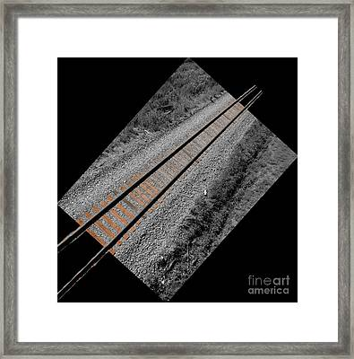 Train Bound For Nowhere Framed Print by Al Bourassa