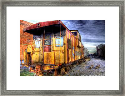 Train Caboose Framed Print