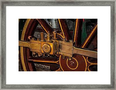Train Connecting Rod Framed Print by Paul Freidlund