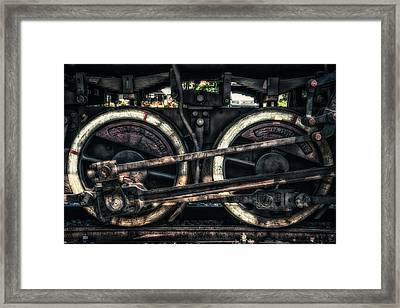 Train Framed Print by Dobromir Dobrinov
