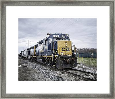 Train Engine 2668 Framed Print