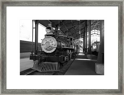 Train Framed Print by Gandz Photography