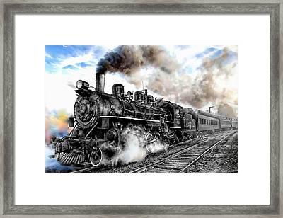 Train I Framed Print