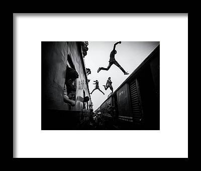 Gravity Framed Prints