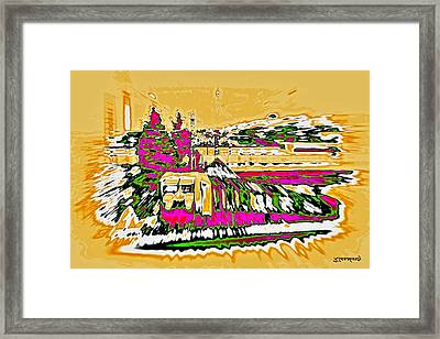 Train Framed Print by Klaas Hartz