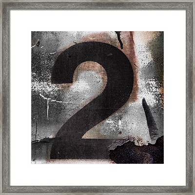 Train Number 2 Framed Print by Carol Leigh
