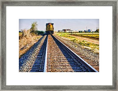 Train Of Thought Framed Print