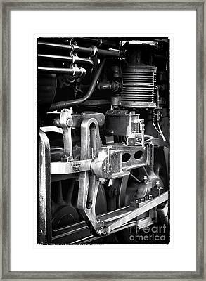 Train Pistons Framed Print by John Rizzuto