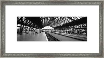 Train Station, Cologne, Germany Framed Print by Panoramic Images
