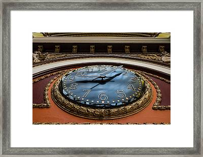 Train Time Framed Print